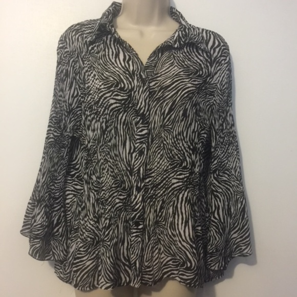 Notations Women/'s Blouse S Large